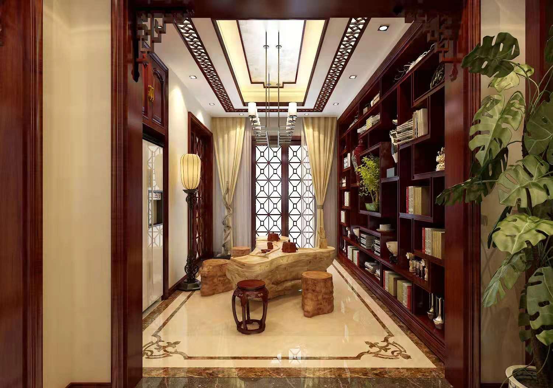中式红木家装,古典装饰情景极致邂逅