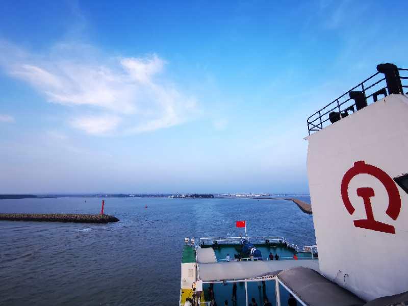 粤海铁路轮渡 结束海南与大陆不通铁路的历史