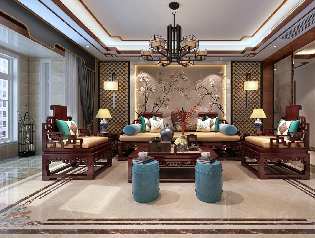 中式红木装修展现传统文化底蕴