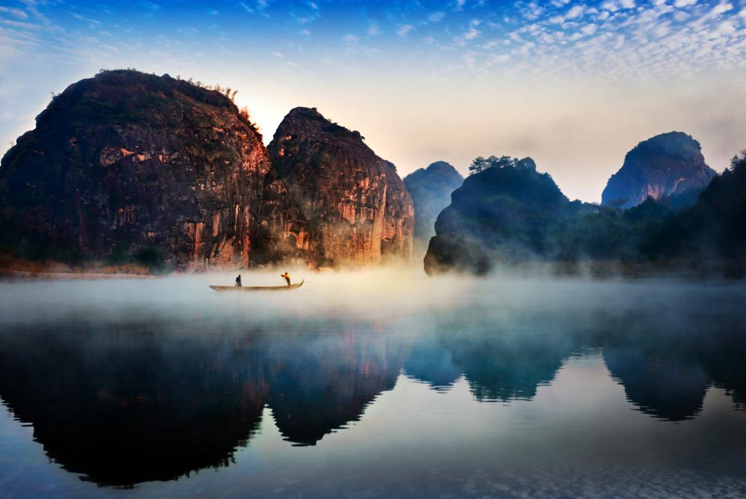 拥有文化+美景的江西是旅游的好去处!