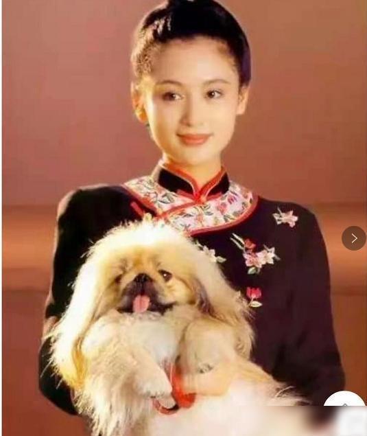20多年前的陈红,躺在沙发上拍的这张照片,堪称人间尤物!