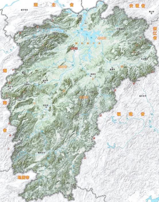 江西省11个地级市,名字都有什么来历?