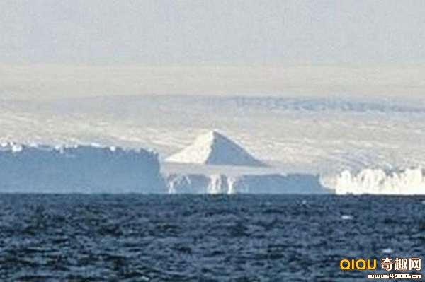 南极发现金字塔 难道是消失的亚特兰提斯