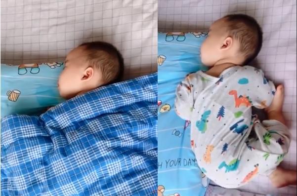 """宝宝睡觉滚来滚去,是在释放""""求助信号"""",宝妈们可要及时读懂-今日新鲜事"""