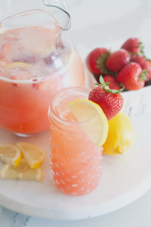 草莓柠檬汁