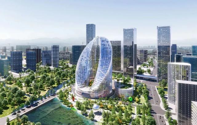 杭州或将迎来一座新地标,身处繁华地段,造型让人过目不忘