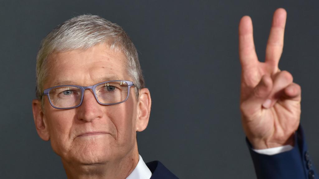 """昨晚,苹果解释了什么叫""""吓人"""""""